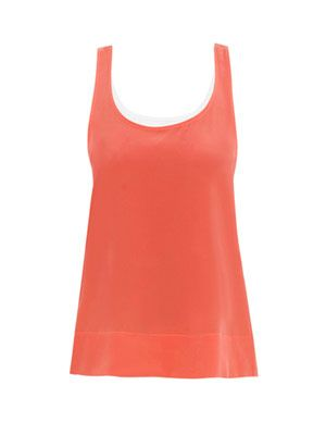 Ibiza and milk trapeze tank top