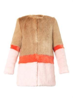 Mabel faux-fur coat