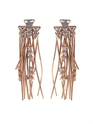 Multi-fringe earrings