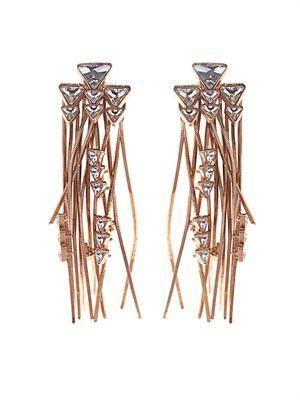 Multi-fringe earrings