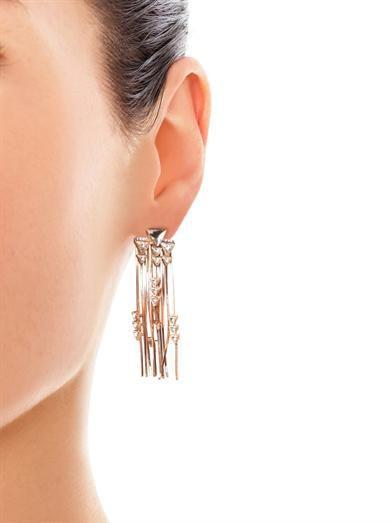 CA&LOU Multi-fringe earrings