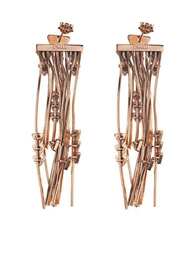 CA&LOU Multi-fringe earrings
