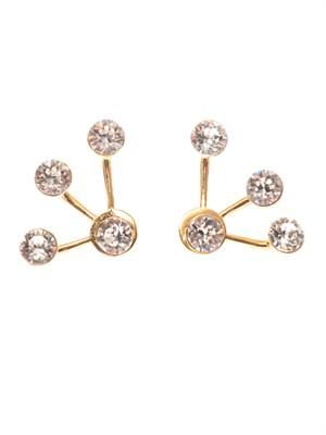 Pixie Maxi lobe-cuff earrings