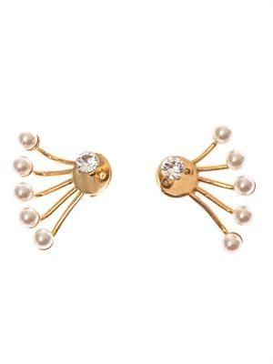 Pixie lobe-cuff earrings