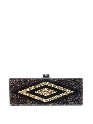 Flavia diamond box clutch