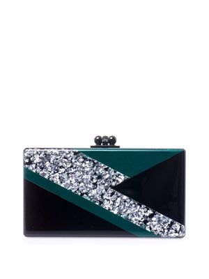 Jean ziggy box clutch