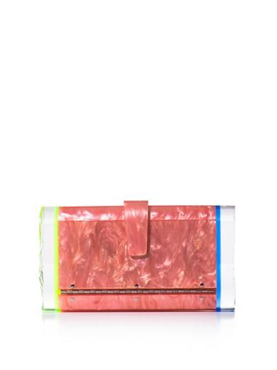 Edie Parker Lara backlit box clutch