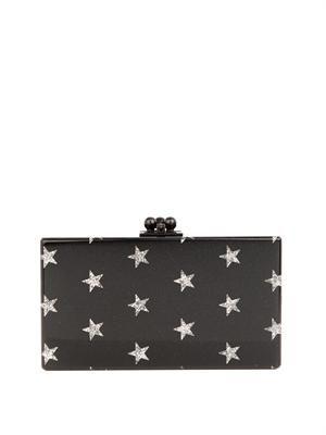 EDIE PARKER Jean Stars box clutch