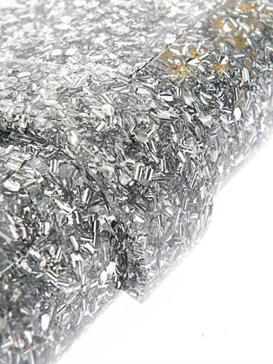 Edie Parker Lara backlit confetti box clutch
