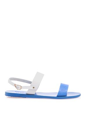 Clio leather sandals