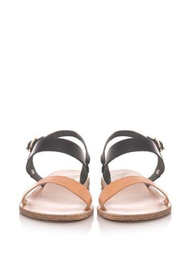 Ancient Greek Sandals Clio leather sandals