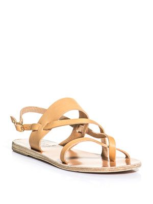 Alethea natural leather sandals