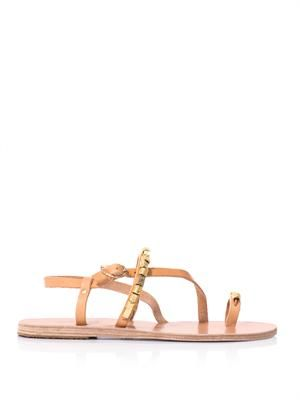 Astris bead embellished sandals