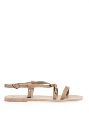 Sofia leather sandals