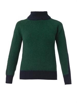 Iris wool and cashmere-blend sweater
