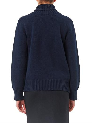 Esk Iris wool and cashmere-blend sweater