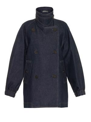 CHRISTOPHE LEMAIRE Oversized denim jacket