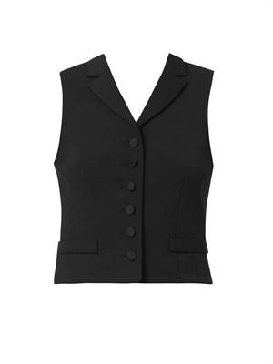 Minos single-breasted waistcoat