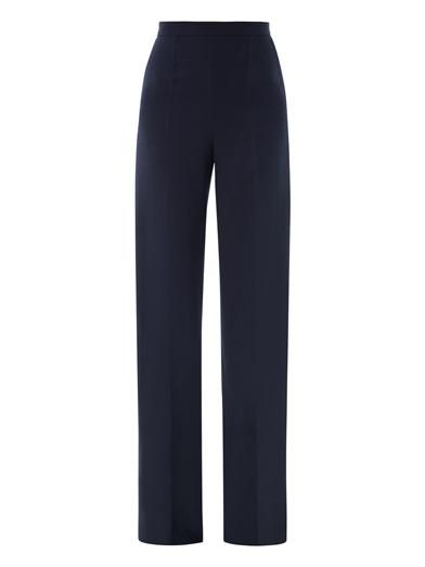 Pallas Castor crepe tailored trousers