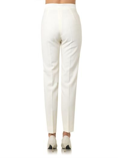Pallas Achile wool-crepe tailored trousers
