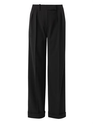 Janus wide-leg tailored trousers