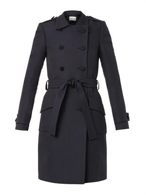Vulcain double-breasted trench coat