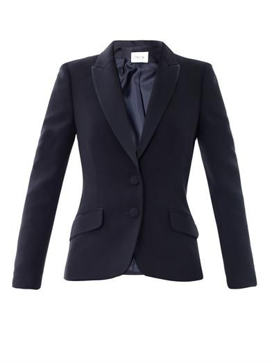 Pallas Mercure crepe tailored jacket