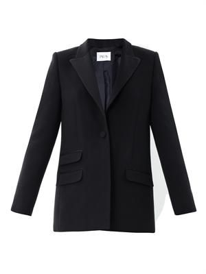 Polaris crepe tailored jacket
