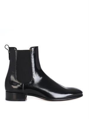 Nagoya leather chelsea boots