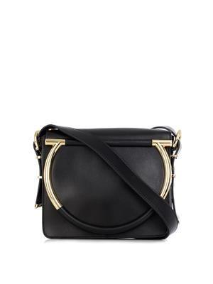 Micole leather cross-body bag