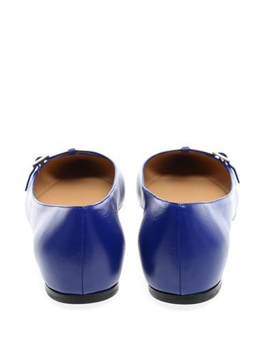 Salvatore Ferragamo Patty point-toe flats