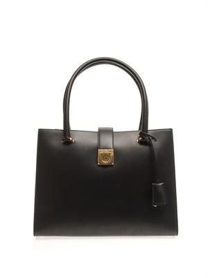 Marlene medium leather tote