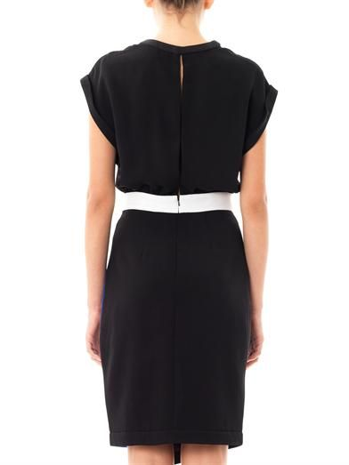 Camilla and Marc Alpine contrast panel dress