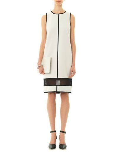 Camilla and Marc Piconet double-faced dress