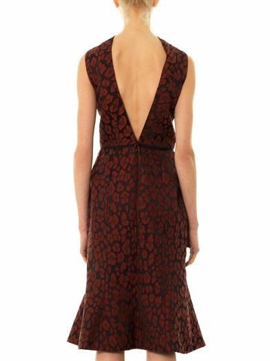 Camilla and Marc Animal jacquard dress