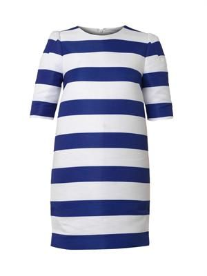 Picadilly Lane striped shift dress