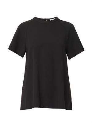 Club Card double-georgette top