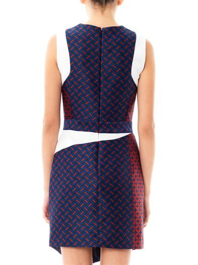 Camilla and Marc Invocation geometric-jacquard dress