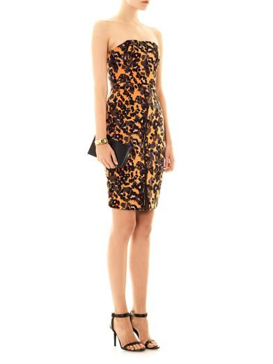 Camilla and Marc Merit animal-print banded dress