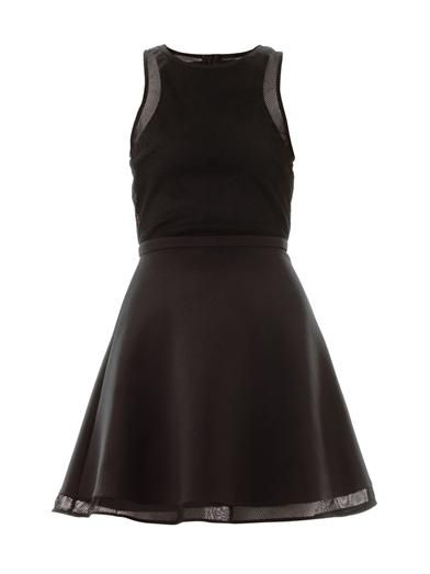 Camilla and Marc Rotation mesh panel dress