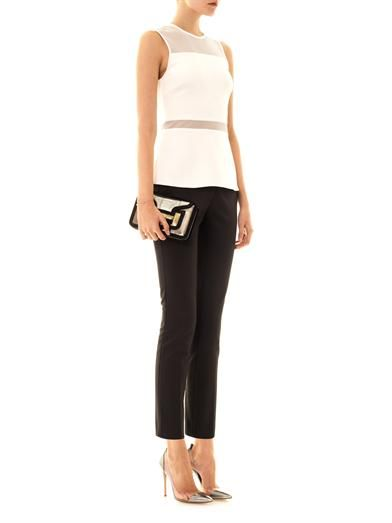 Camilla and Marc Motley slim-fit tailored trousers