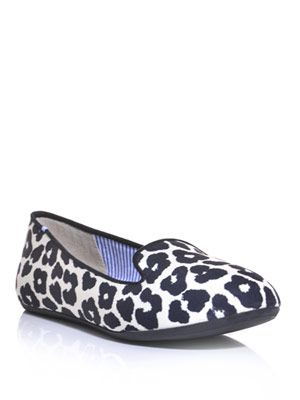Sheila animal-print slippers
