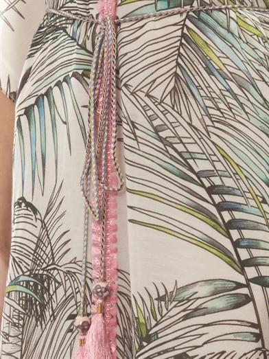 Matthew Williamson Escape Songbird-print long kaftan
