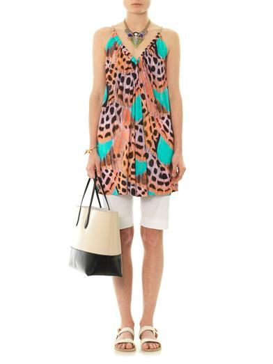 Matthew Williamson Escape Butterfly wing-print cover-up