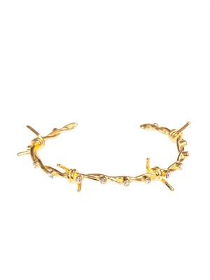 Barricade Babe barbed-wire bangle