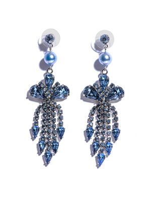 Regal rocker chandelier earrings