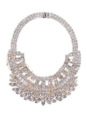 Barricade Babe statement necklace