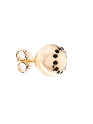 Nektar De Stagni Hugs and Kisses gold-plated earrings