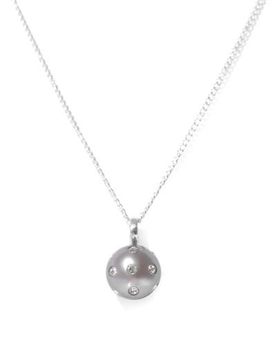 Nektar De Stagni Lady bug pearl necklace