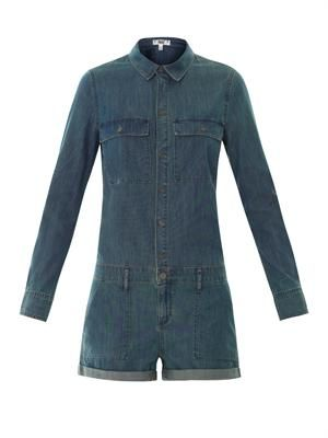 Jackson denim playsuit